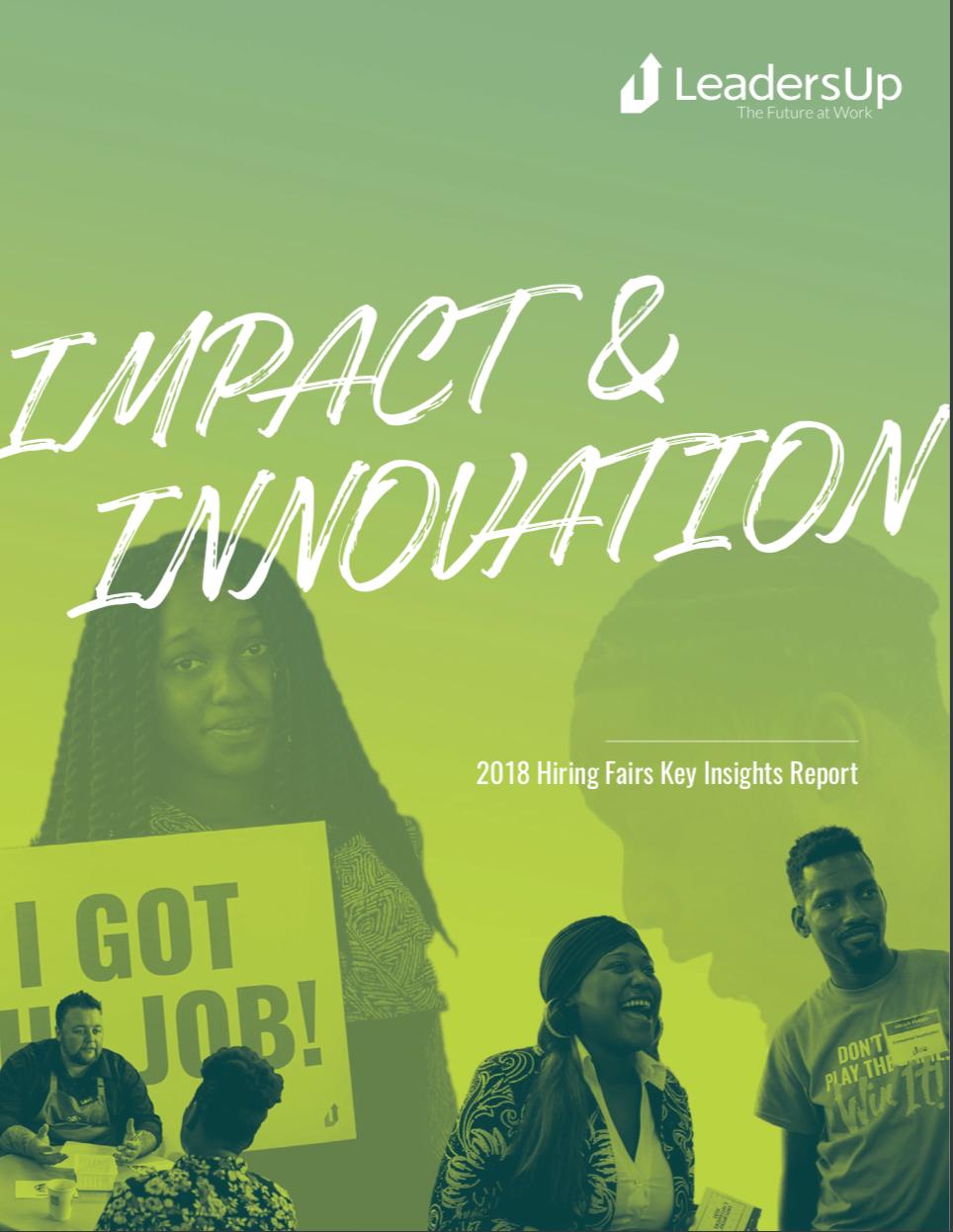2018 Hiring Fair Key Insights Report